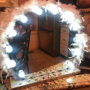 LED Vanity Mirror ( dimmable 3 light types)